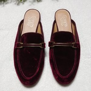Franco Sarto ▪ Pippa Red Velvet Loafers